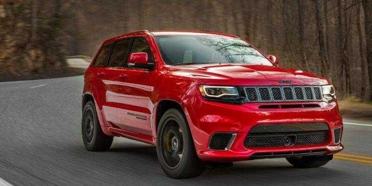 Yeni Jeep Grand Cherokee Trackhawk