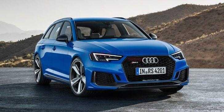Audi En Hızlı Otomobilini Piyasaya Sürüyor: Audi RS4 Avant 2018