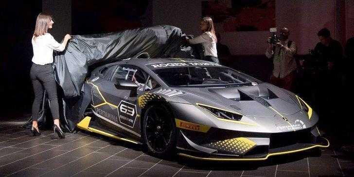 Lamborghini Huracan Super Trofeo Evo 2018 Lansman ile Tanıtıldı