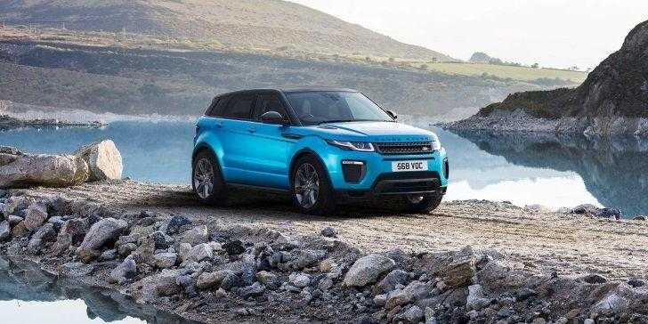 Range Rover Evoque Landmark Edition Yollarda