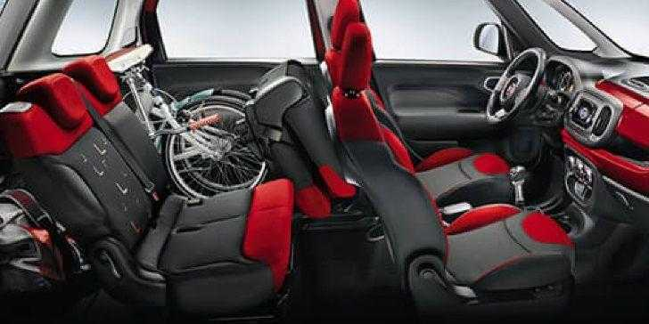 Fiat 500L 2018 İç Tasarım