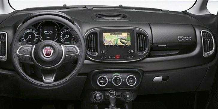 Fiat 500L Cross Plus 2018 İç Tasarım