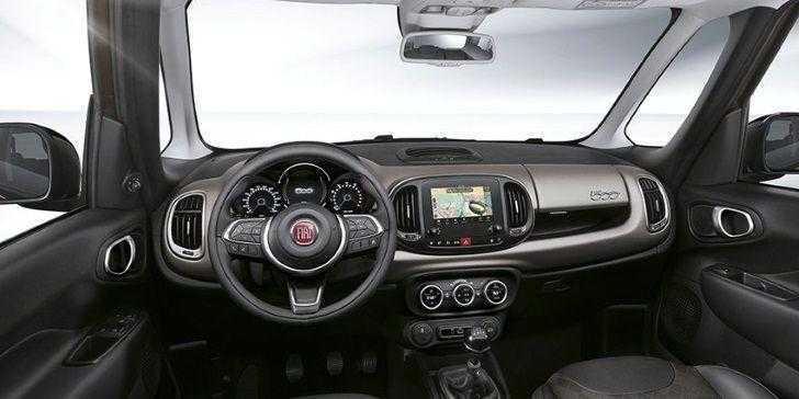 Fiat 500L Wagon 2018 İç Tasarım