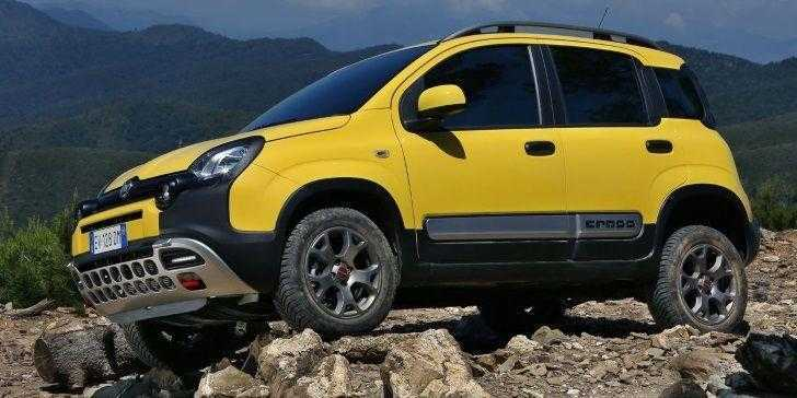 Fiat Panda Cross 2018 Sarı