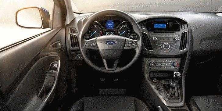Ford Focus 2018 Konsol
