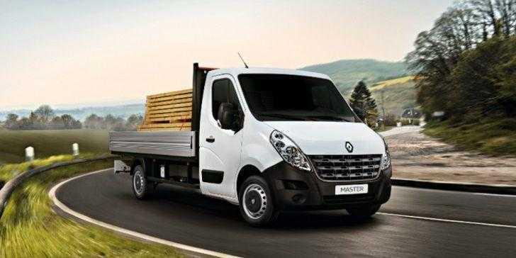 Renault Master Kamyonet 2018 Yola Çıkmak İçin Hazır