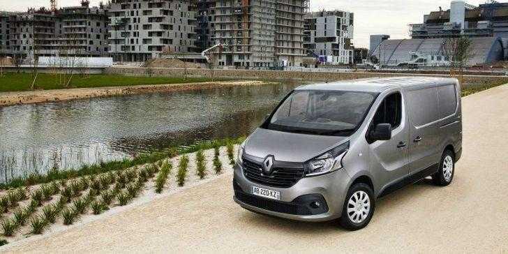 Renault Trafic Panelvan 2018 Gri Ön