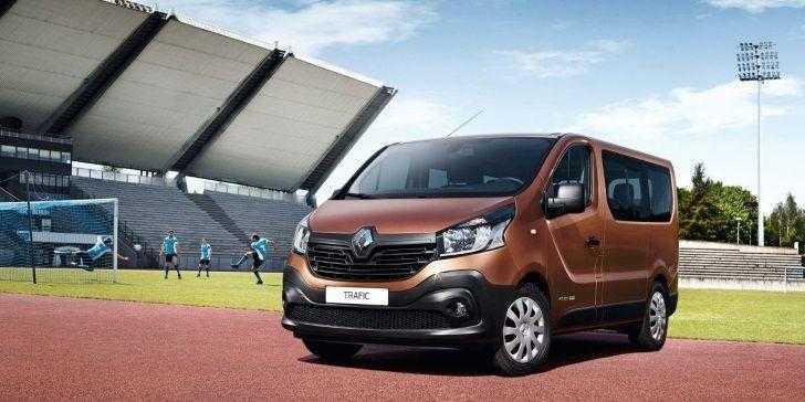 Renault Trafic Passenger 2018 Güvenlik Sınıfının Lideri