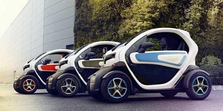 Renault Twizy 2018 Yan Görünüm