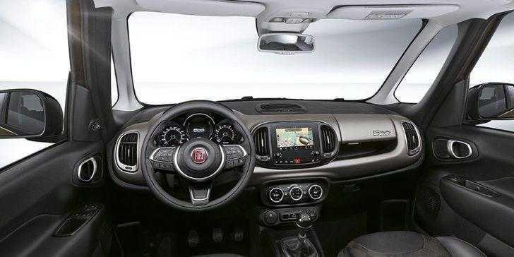 Yeni Fiat 500L 2018 İç Tasarım