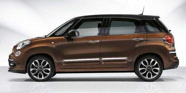 Yeni Fiat 500L 2018 Yan Görünüm
