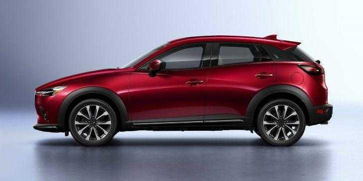 2019 Model Mazda CX-3 Yan Görünüm