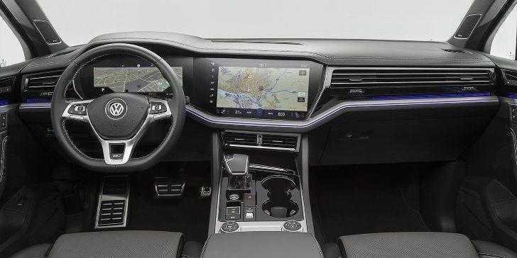 2019 Volkswagen Touareg İç Tasarım