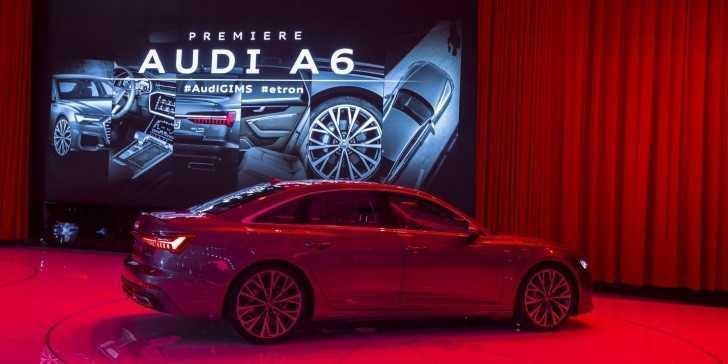 Merakla Beklenen Audi A6 Cenevre'de Sahne Aldı