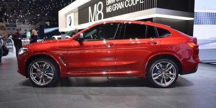 BMW X4 Cenevre Sahnesinde Beğeniye Sunuldu