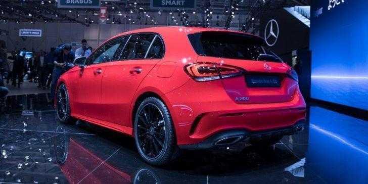 Mercedes A Serisi Cenevre'de Göz Kamaştırdı