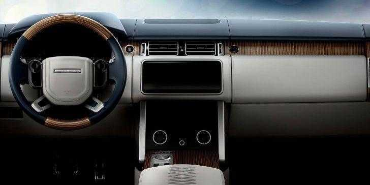 Range Rover SV Coupe Konsol