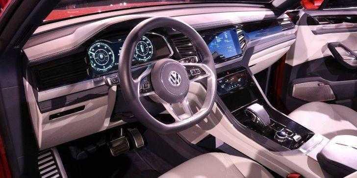 Volkswagen Atlas Cross Sport Konsol