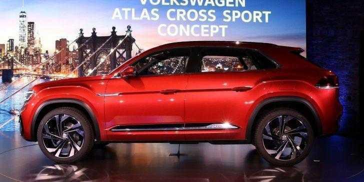 Volkswagen Atlas Cross Sport Yan Görünüm