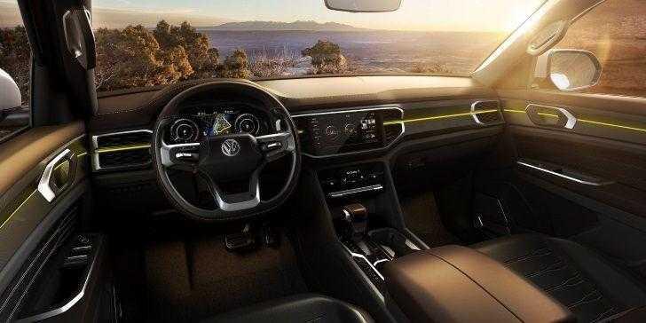 Volkswagen Atlas Tanoak İç Tasarım