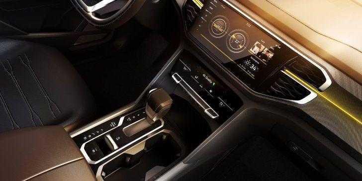 Volkswagen Atlas Tanoak Konsol