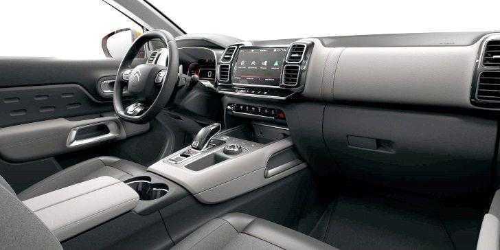 Yeni Citroen C5 Aircross Konsol Bölgesi