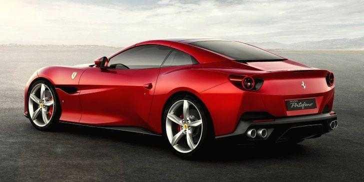 Ferrari Portofino Arka