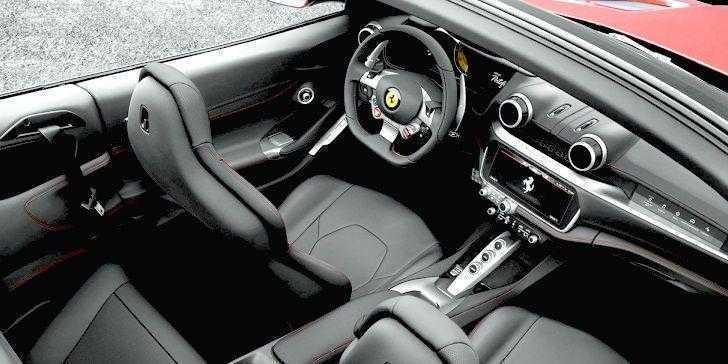 Ferrari Portofino İç Tasarım
