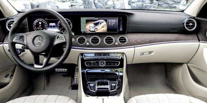 Mercedes E-Serisi All-Terrain Konsol Bölgesi