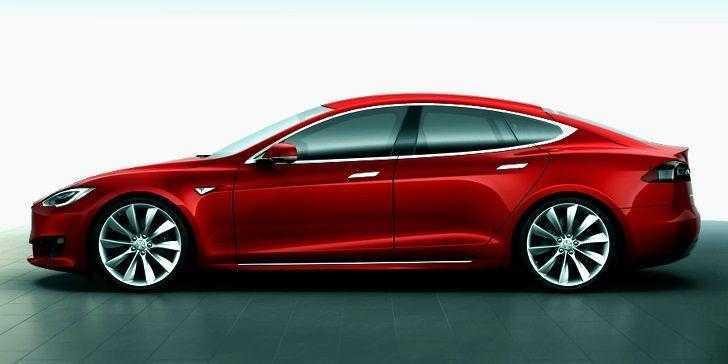 Tesla Model S Yan Görünüm