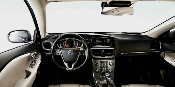 2018 Volvo V40 Konsol Bölgesi