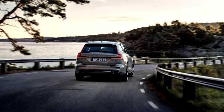 2018 Volvo V90 Arka Görünüm
