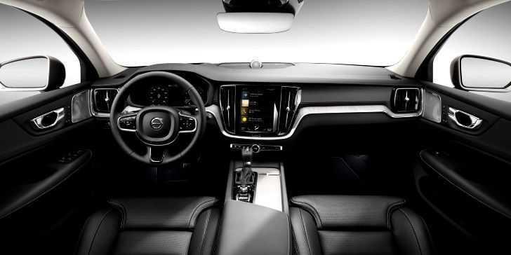 2018 Volvo V90 Konsol Bölgesi & İç Tasarım