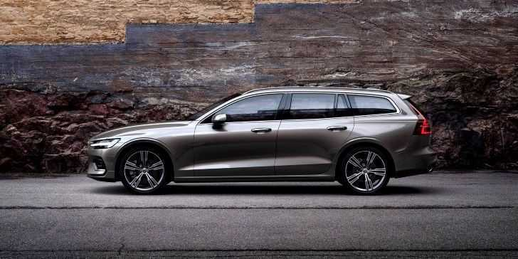 2018 Volvo V90 Yan Görünüm & Tasarım