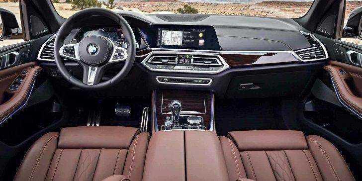 2019 BMW X5 Konsol Bölgesi