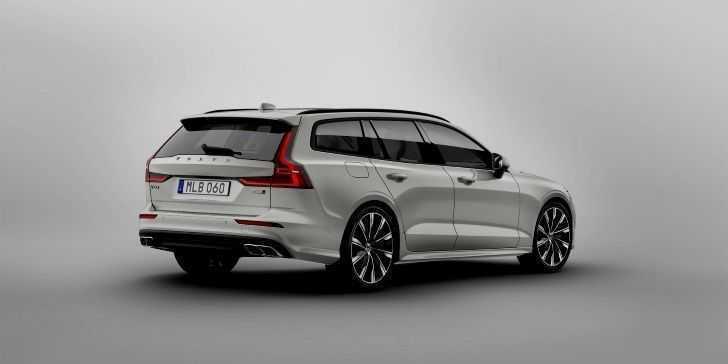 2019 Volvo Yeni V60 Arka