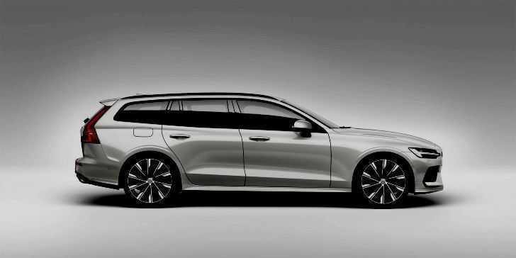 2019 Volvo Yeni V60 Yan Görünüm