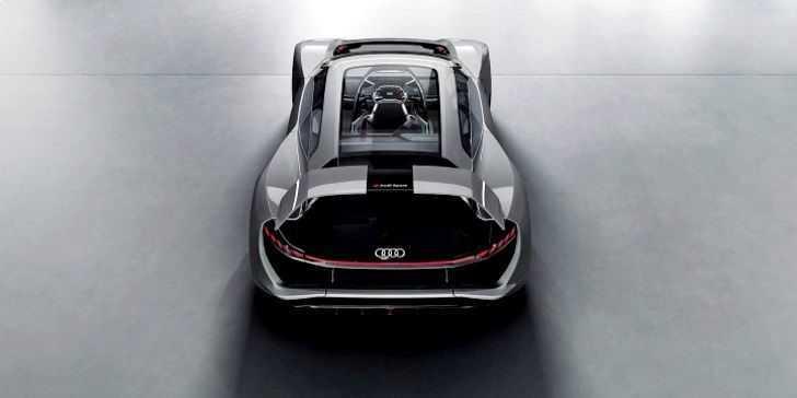Audi PB 18 E-Tron Arka Üst Görünüm