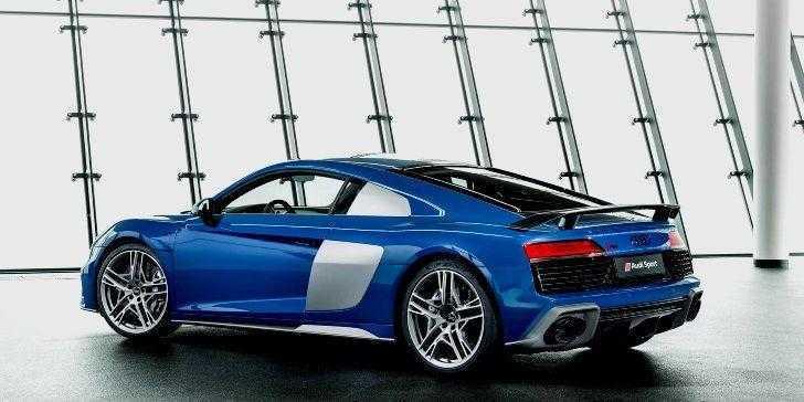 2019 Audi R8 Arka