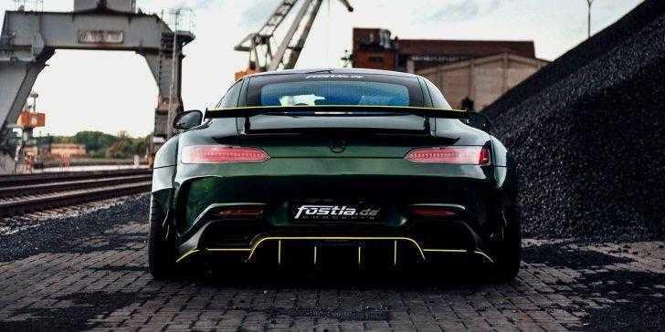 Modifiyeli Mercedes-AMG GT R Modeline Göz Atın