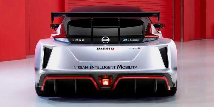 2019 Nissan LEAF Nismo RC Yarış Arabası Tanıtıldı
