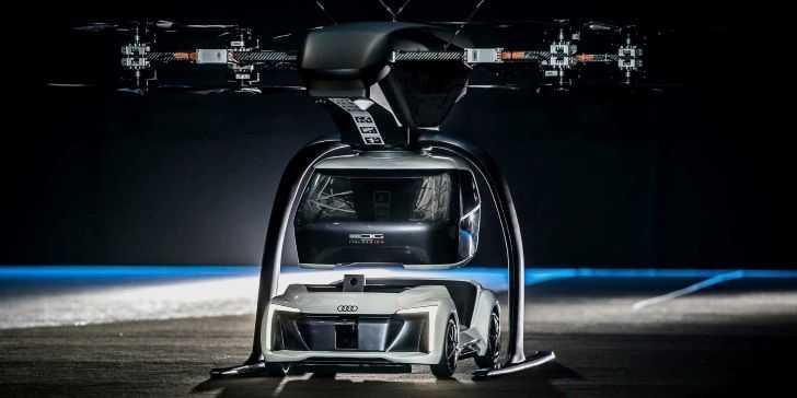 Audi'nin Uçan Taksileri İlk Testi Başarıyla Geçti