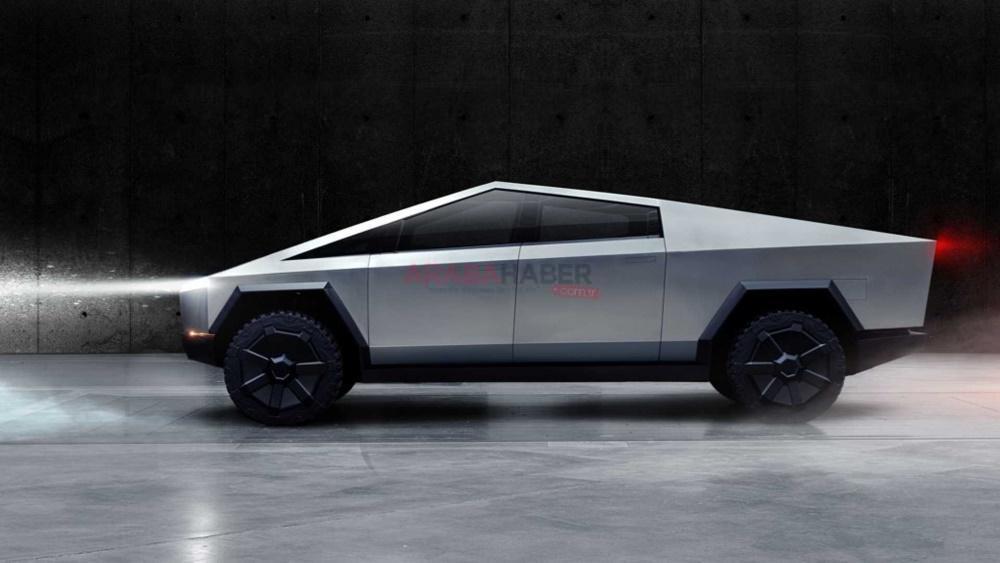 Tesla Cybertruck Suda Yüzebilecek