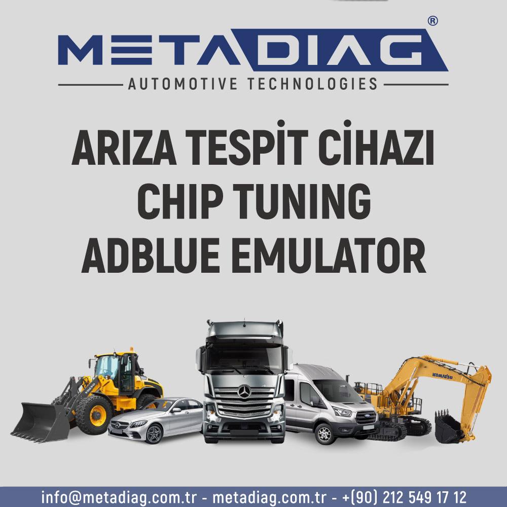 Ariza Tespit Cihazi Chip Tuning Adblue Emulator